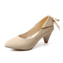 ปั๊มMatte 31 32 33รองเท้าผู้หญิงใหม่48 47 46 45 44 43 42 41ส้นสูง6เซนติเมตรEURขนาด30-49