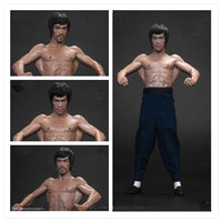 UFC Inaugurator Bruce Lee The Bat Muscle Full Length Portrait PVC Action Figure Collection Model Giocattolo G2189