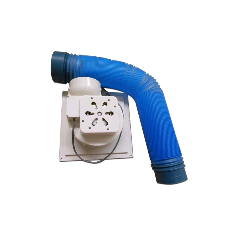 220v/50hz Smoke Exhaust Fan For LY Laser Engraver Laser Exhaust Fan With Smoke Exhaust Pipe