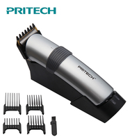 New Design PRITECH Rechargeable Hair Trimmer Professional Hair Clipper Hair Cutting Machine To Haircut Beard Trimer Dropshipping