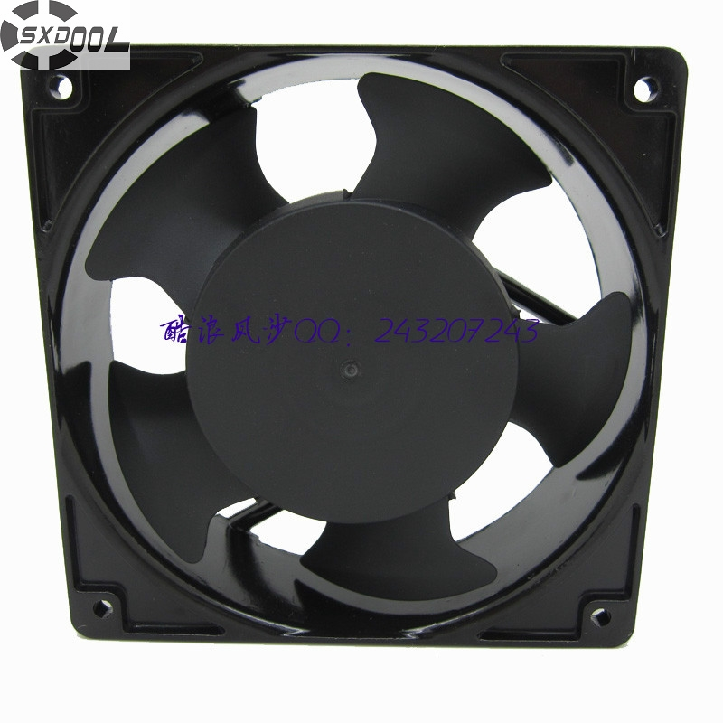 SXDOOL cooling fan 220V 4C-230HS tubeaxial fan 12038 12cm 120mm 230VAC cooler computer water cooling fan delta pfc1212de 12038 12v 3a 12cm strong breeze big air volume violent fan