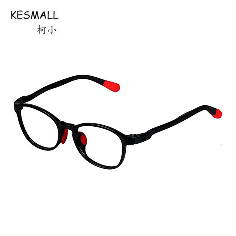 KESMALL 2018 Newest Children Optical Glasses Frame Fashion TR90 Spectacle Frames Boys Girls Gaming Eyewear Occhiali Miopia XN607