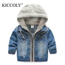 Kids Denim Jacket For Boys Jean Coat Clothing Fashion Causal Girls Cardigan Children Outerwear Cowboy Toddler Hodded Jackets