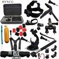 BYNCG для Gopro Штатив Аксессуары Go Pro Комплект Крепление для SJ4000 GoPro Hero 5 4 3 Black Edition Камеры Случае Xiaomi yi Экен H9