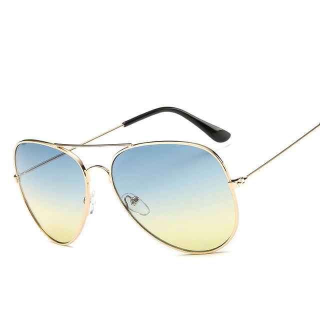 Men's Colorful Aviator Sunglasses
