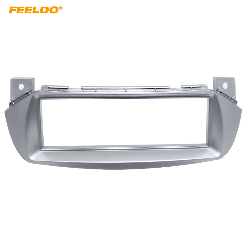 FEELDO Car Refitting DVD Frame DVD Panel Dash Kit Fascia Radio Frame Audio Frame for 2010 SUZUKI ALTO 1 DIN #HQ1634