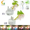 110V 220V EU/US baby room night led light kids light Colorful LED Mushroom Night Light LED nightlight