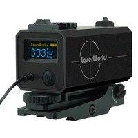 LaserWorks LE032 Пикатинни монтируемый лазерный дальномер 700 м для страйкбола, снайперская винтовка