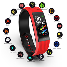 LIGE Smart Bracelet Women 2019 Waterproof Heart Rate Monitoring Bluetooth For Android IOS Fitness Watch+Box