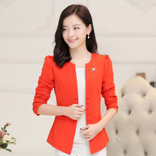 Brieuces Free Shipping Womens One Button Slim Fashion Office Business Suit Casual Jacket Female Coat Outwear