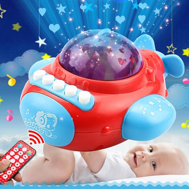 2018 Trend Europe And America Baby Early Education Sleep Tape Machine Star Projection Star Story To Comfort Baby Toys