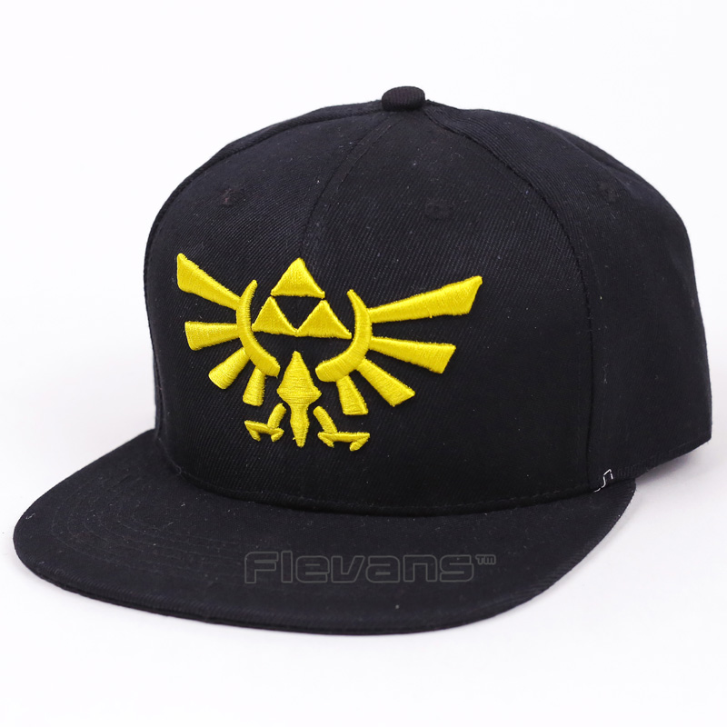 The Legend of Zelda Hip Hop Snapback Summer Cotton Cap Hat Baseball Cap For Men Women a new set of head cap cotton scarf dual purpose male and female geometric pattern of baotou hat