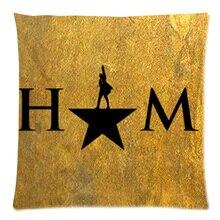 Cotton Linen Hamilton Broadway Musical Custom Cushion Cover Decoractive Pillow Cover Throw Pillow Case kids Gift 45X45CM