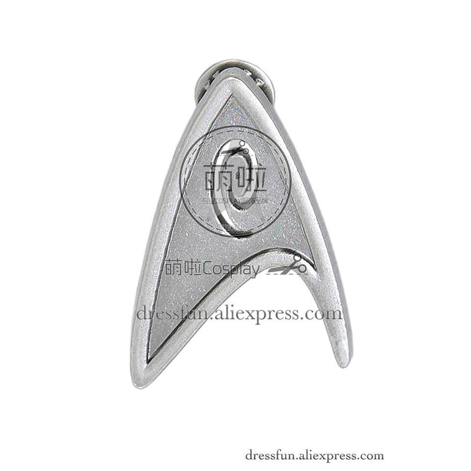 Star Trek Engineering Brooch Badge Cosplay Halloween Fashion Party Fast Shipping