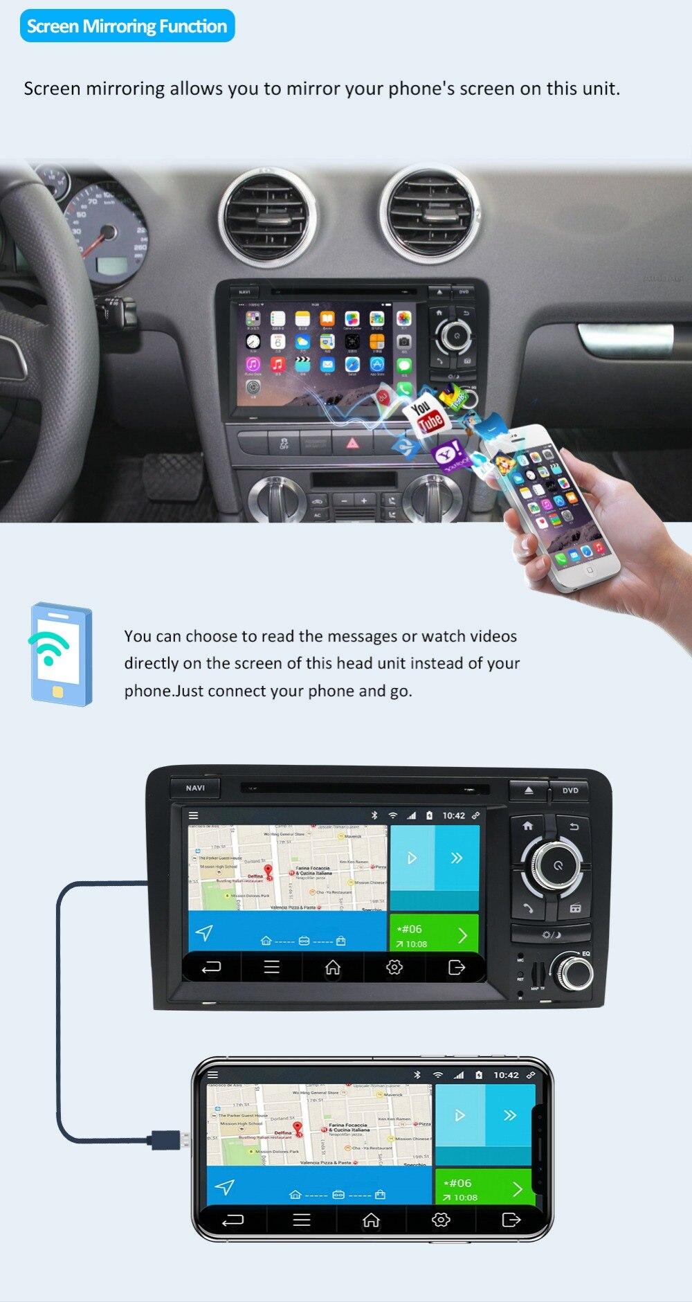 din GPS Audi Der 7