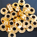 10 Pieces Silver / Golden Skating Bushing Spacer, 10mm Length, For Inline Roller Skates / Scooter / Skateboard Wheel Screw Nail