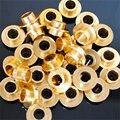 10 Unidades de Plata/Oro de Patinaje Buje Espaciador, 10mm de Longitud, para Patines en línea/Scooter/Monopatín Rueda de Tornillo de Uñas
