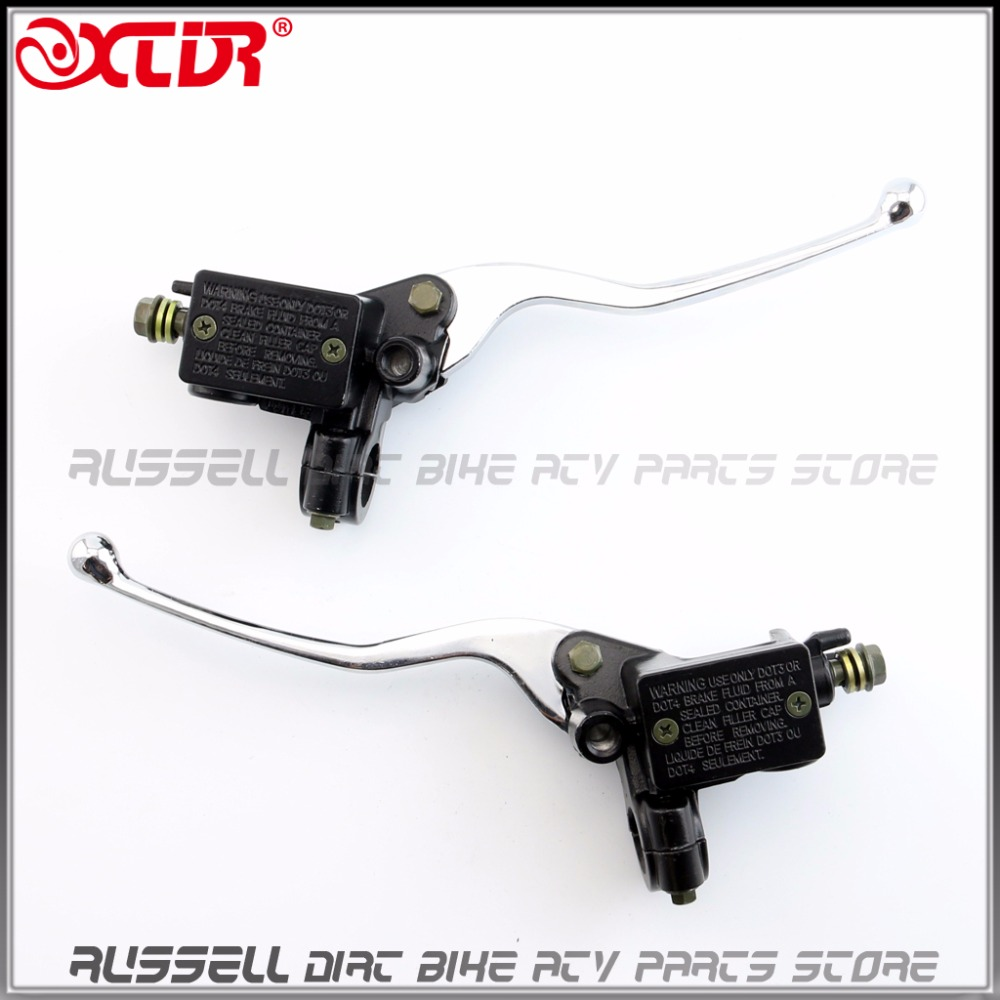 Left Right Handle Brake Clutch Lever Master Cylinder Hydraulic For Majesty Cruiser Scooter T2 T3 T5