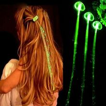 Led hair extensions reviews online shopping led hair extensions led light braid christmas party novelty decoration hair extension by optical fiber halloween concert birthday toy pmusecretfo Gallery
