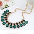 Envío Libre Collar de Cristal de Joyería de Moda al por mayor Exagerada party Collar de la joyería para mujer collar de La joyería de la Boda