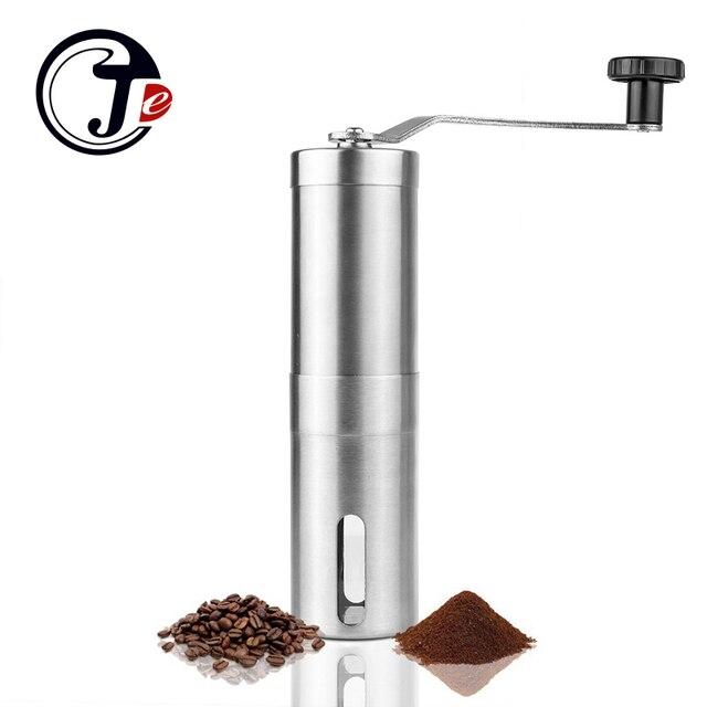 Original Manual Coffee Grinder Stainless Steel Coffee Grinders Coffee Mill Machine Portable Hand Burr Grinders Manual Tool