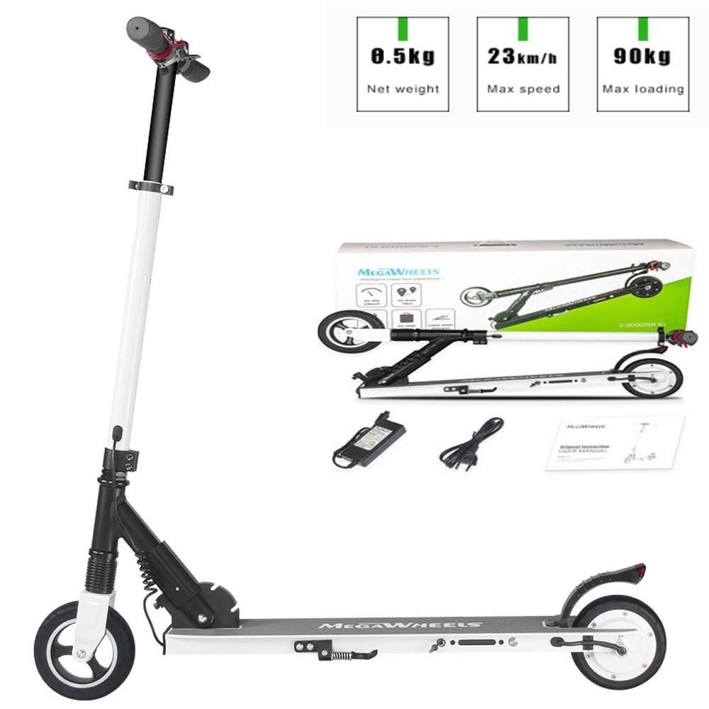 6 дюймов Складная Электрический Скутер 2 колеса скейтборд взрослых/детская складная ХОВЕРБОРДА