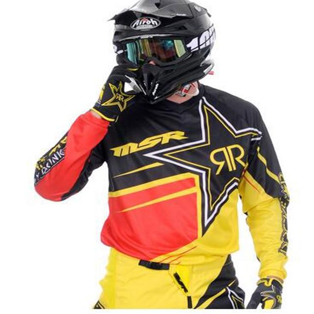 eafab780312 2018 long sleeve riding gear ATV bike racing Jersey Hombre Moto best  Motocross Jerseys Dirt Bike bike 2018 Mtb Downhill