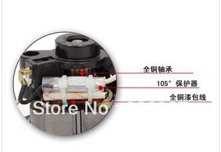 800W industrial vacuum cleaner motor wet and dry use factory vacuum cleaner motor