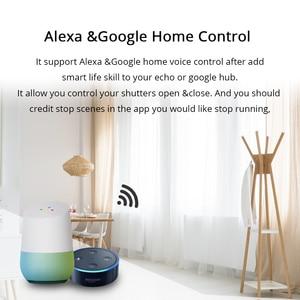 Image 2 - Zemismart Google Home Alexa Echo Curtain Switch Blind Switches For Standard Roller Motor Slide Engine Wifi APP Siri Control