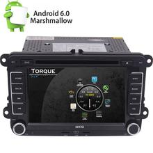 For VW Jetta Passat 7″ 2Din Android 6.0 Car DVD Player GPS WIFI 3G OBD2 Radio