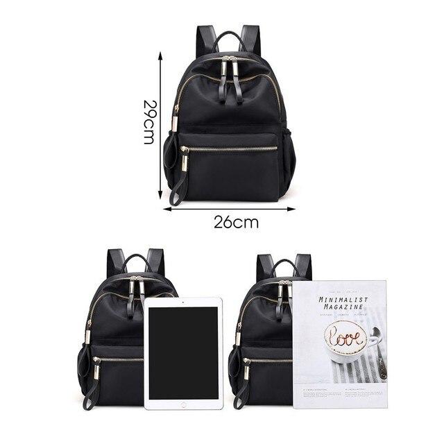 Herald Fashion Backpack Women Leisure Back Pack Korean Ladies Knapsack Casual Travel Bags for School Teenage Girls Bagpack 2