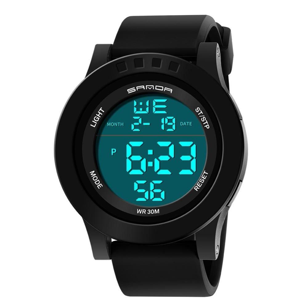 Newest Fashion 2018 Super Slim Sport Watch Men Electronic LED Digital Wrist Watches Waterproof Auto Date Watches все цены
