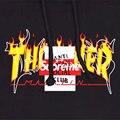 Hot marca suprem homens mulheres thrasher assc off branco V pablo kenye oeste hip hop t-shirt Skate Harajuku top tee Cooo Coll