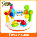 Baby musical toys cartoon music kingdom Rattle Ring Bell 360 degree rotation with music and light baby toys