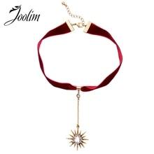 JOOLIM Jewelry Wholesale/2016 Crystal Layers Necklace Fashion