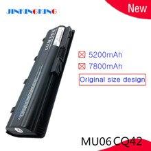 Ноутбук Батарея для hp Pavilion g4 g6 g7 CQ32 CQ42 CQ62 CQ72 DM4 HSTNN-CBOX HSTNN-Q60C HSTNN-CB0W MU06 MU09 G32 G42 G62