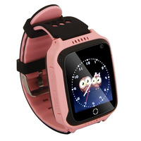 M05 GPS GPRS positioning Real time Tracker Location SOS Call Remote Camera Monitor Flashlight Watch Wristwatch for Kids child