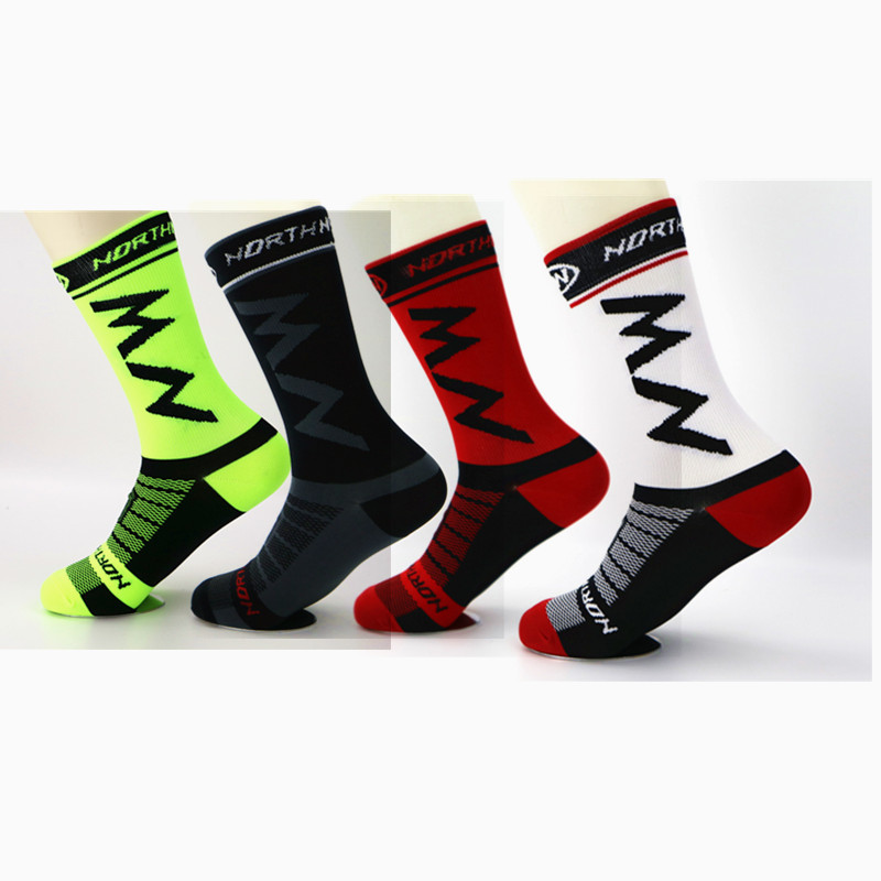 2019 New Men Women Coolmax Cycling Socks Breathable Basketball Running Football Socks