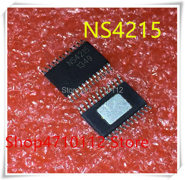 NEW 5PCS/LOT NS4215 TSSOP-24 2X10W Dual Channel Audio Amplifier Chip  IC