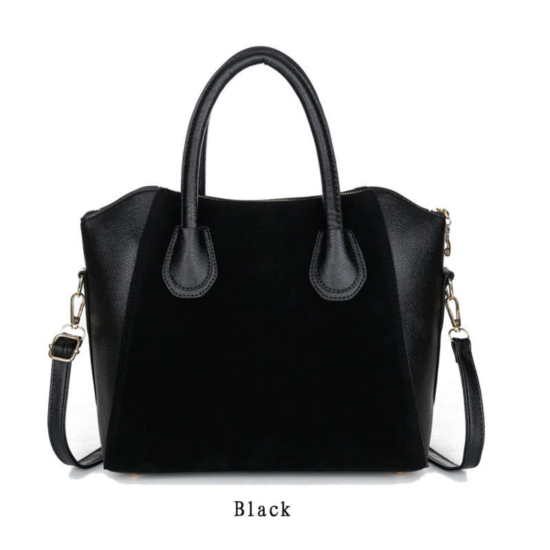 New Arrival Spring Fashion Women Handbag Nubuck PU Leather Shell Shouder Bags Vi