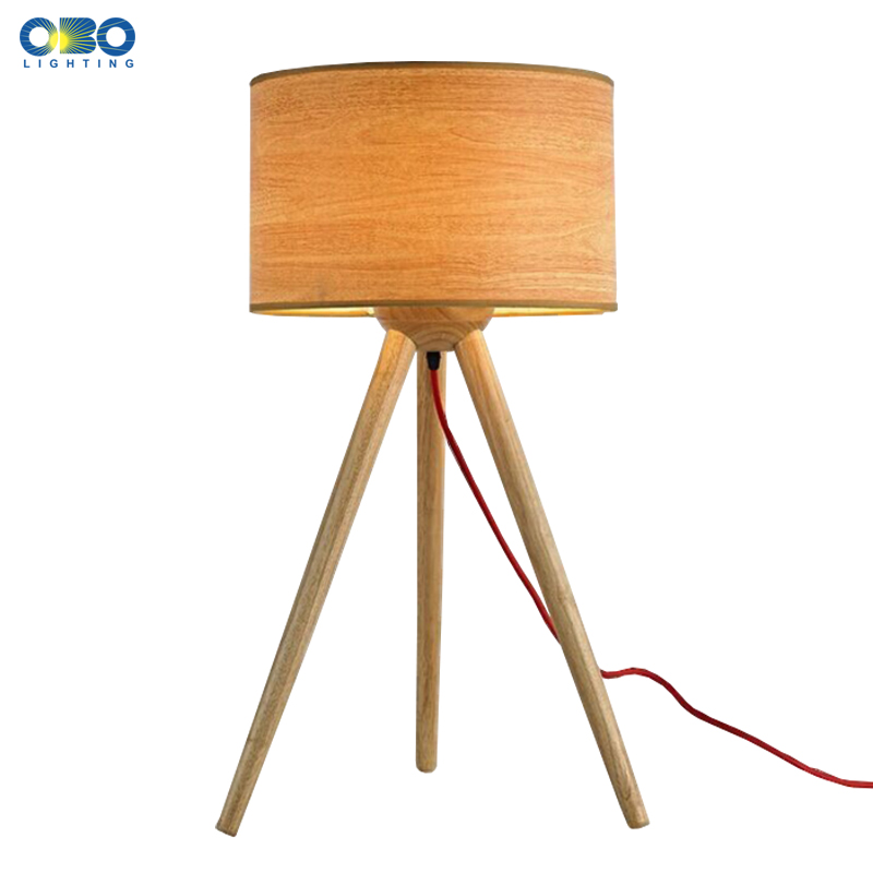 Modern Wood Shade Table Lamp Study Desk Light Bedroom/Bedside Foyer Decoration Lighting E27 110-240V Free Shipping indoor brief solid oak wood textile desk lamp fabrics lampshade table light bedroom bedside warm lampara night light luminaria