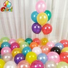 20/50 Pcs 10 pollici palloncini in lattice di perle decorazione di cerimonia nuziale celebrazione elio Globos baby shower giocattoli per bambini palloncino di compleanno