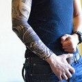 4PC Hot Sale Style Unisex Women Men Temporary Fake Slip On Tattoo Arm Sleeves Kit Collection Halloween