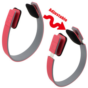 Image 2 - Colorful Sports Wireless Headphone Bluetooth Headset Stereo Fashion Adjustable Headphones With Mic Handsfree For Smartphone