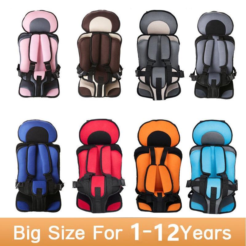 2017 Nuevo Niño Del Asiento de Coche 9-30 kg Niño Asientos de Coche Para Niños Engrosamiento Esponja Bebé Niños Del Asiento de Coche cinturones de los asientos de Seguridad