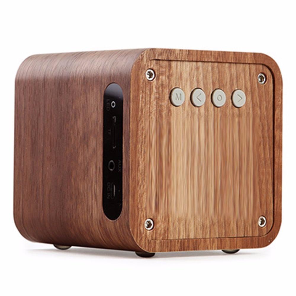 Teal Açıq İdman Taxta Simsiz Bluetooth Dinamik Smart Mini Əl - Portativ audio və video - Fotoqrafiya 6