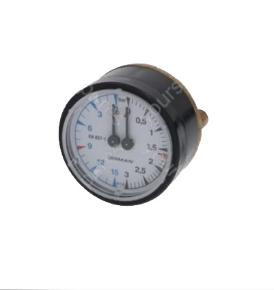 Casadio/Cimbali Coffee Machine Pressure Gauge Boiler-pump 62 Mm   Casadio/Cimbali Coffee Machine Pressure Gauge Boiler-pump 62 Mm