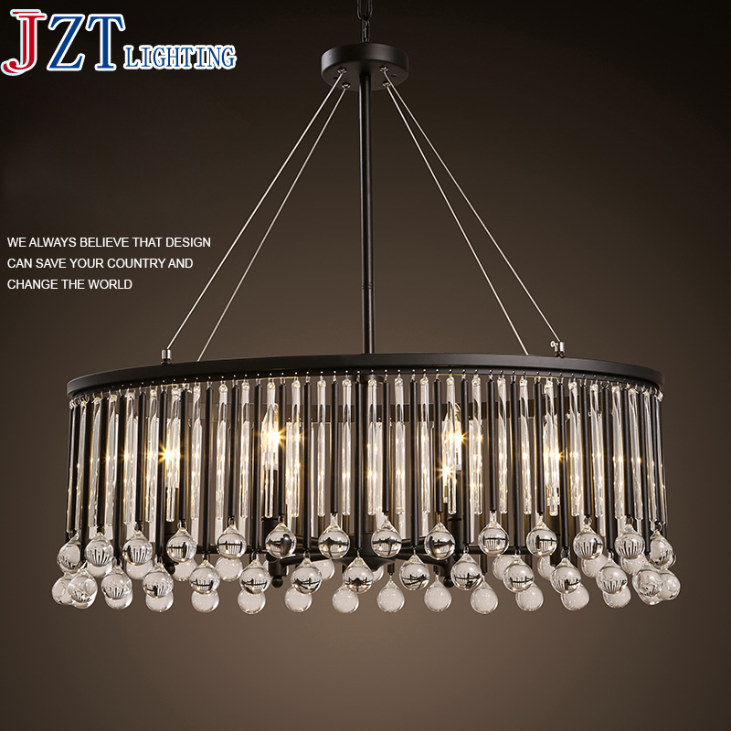 M European - Style Restaurant Crystal Dia33cm Pendant Lamps Living Room Bar American Aisle Piaoguang Hotel Hanging Use Lights a1 master bedroom living room lamp crystal pendant lights dining room lamp european style dual use fashion pendant lamps