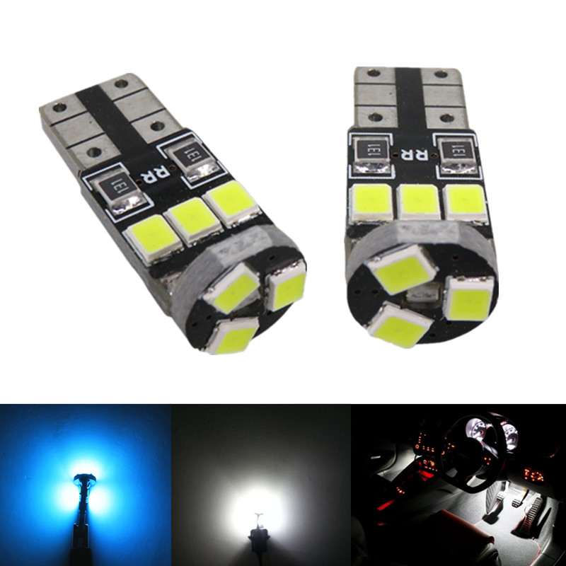 Wljh 6x 2835 smd w5w led light blub lamp car led interior - 2015 honda accord interior illumination ...