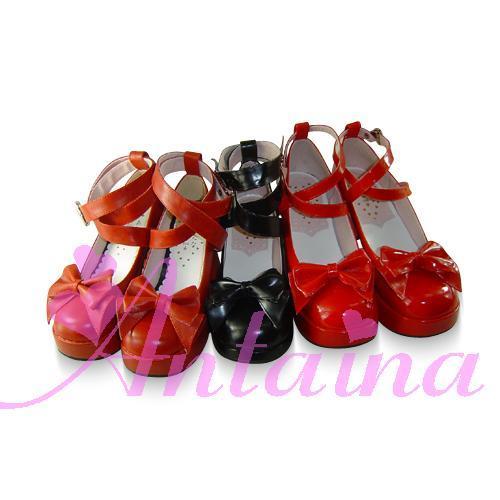 Princess sweet lolita gothic lolita shoes custom  lolita princess high-heeled shoes butterfly shoes 9812  high platform princess sweet lolita gothic lolita shoes custom harajuku platform zipper style 9826 black
